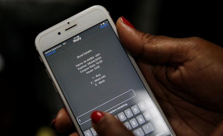 Kenya: államkötvény kibocsájtás mobiltelefonon