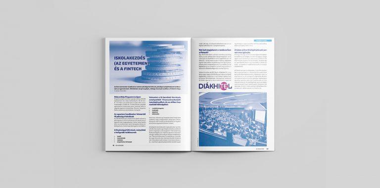 Megjelent Fintech edukációs rovatunkkal az &U Magazin szeptemberi száma