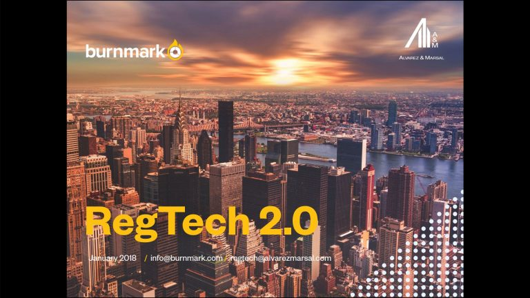 Megjelent a Burnmark Regtech 2.0 tanulmánya