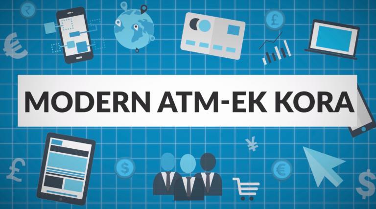 Modern kori ATM-ek