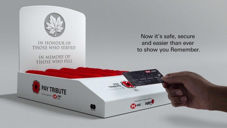 A HSBC digitális adományládákat telepít kanadai bankfiókjaiba