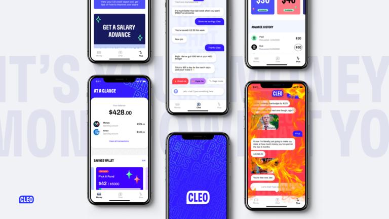 A Cleo pénzügyi asszisztens app 44 millió dollár tőkét vont be