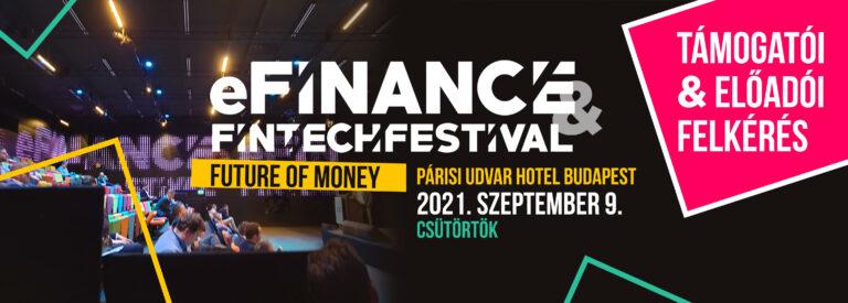 Idén is jön az eFinance & FINTECH Festival